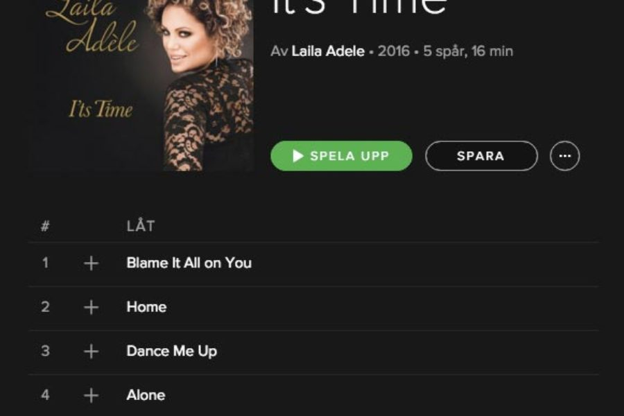 """It's Time"" available on Spotify"