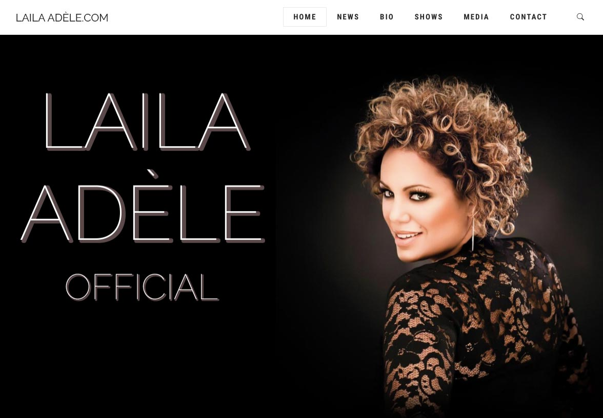 Laila Adèle New Website
