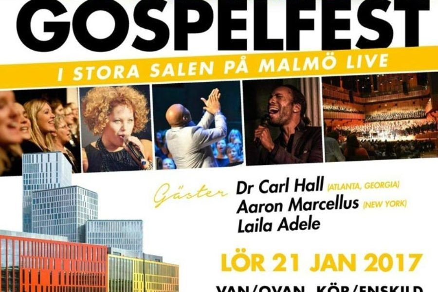Gospelfest in Malmö on January 21st 2017
