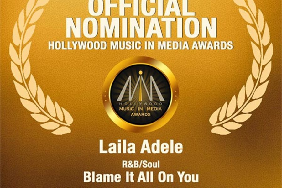 Laila Adèle recieves HMMA nomination!