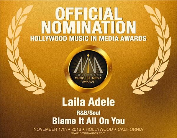 Laila Adèle HMMA Nomination