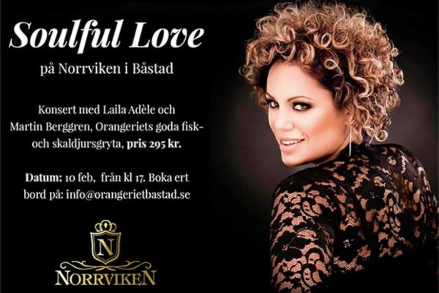 Soulful love! Laila Adèle & Martin Berggren in concert