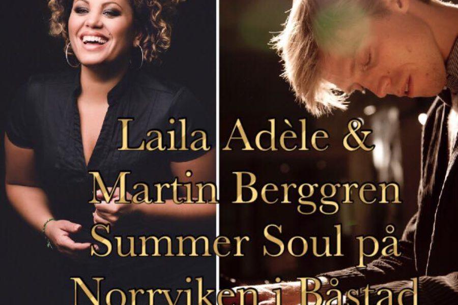 Laila Adèle & Martin Berggren – Live @ Norrviken, Båstad