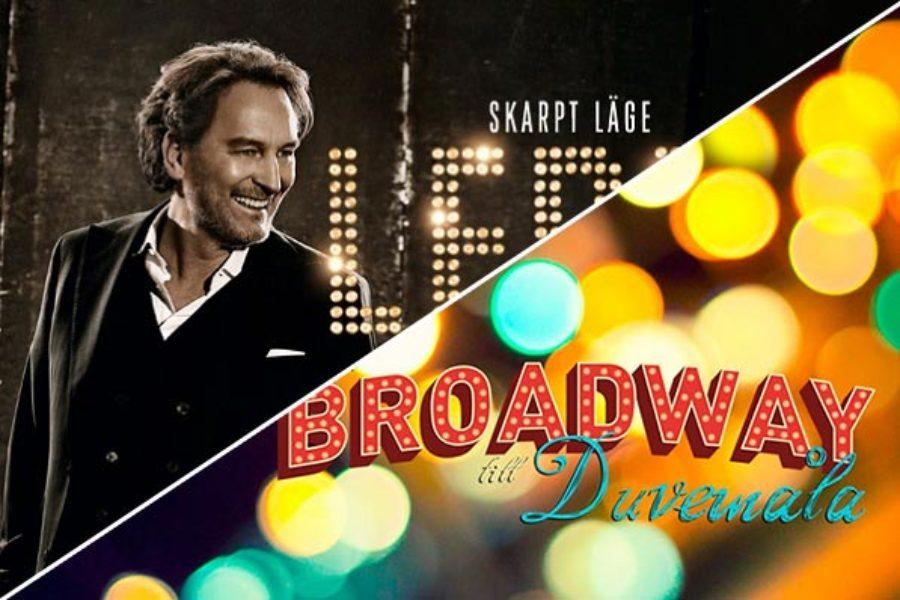 Ledin på Rondo & gästspel i Från Broadway till Duvemåla