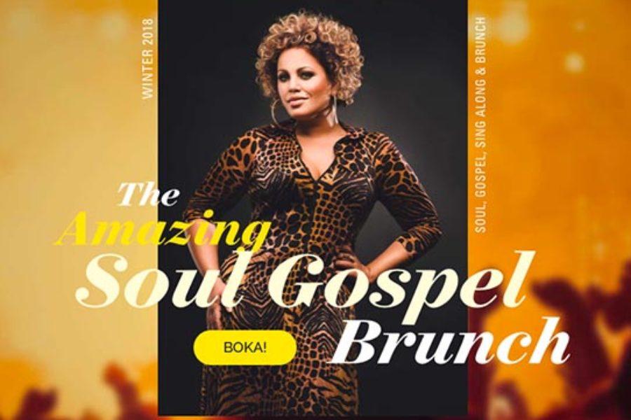 Laila Adèle bjuder upp till årets svängigaste julshow –The Amazing Soul Gospel Brunch!