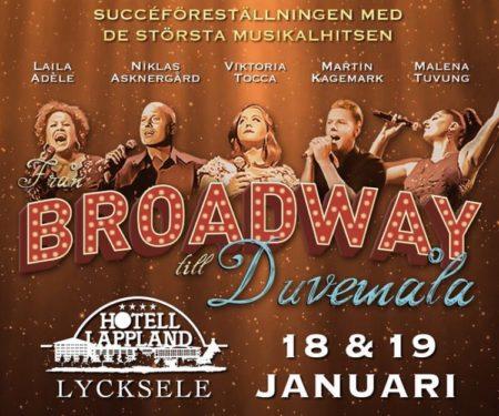 Smygpremiär med Från Broadway till Duvemåla inför vårturnén