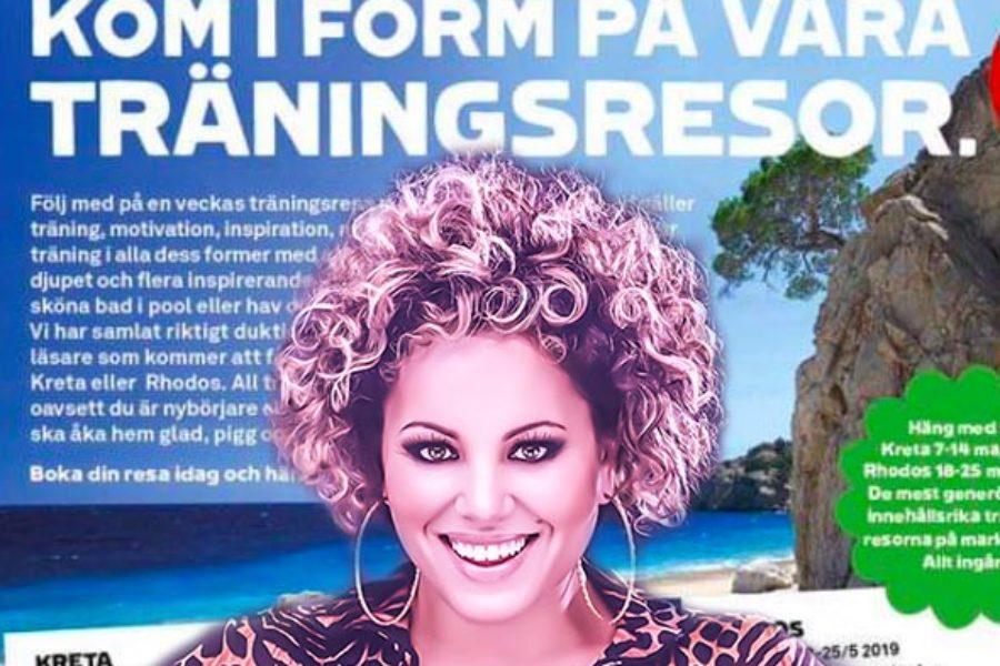 """Häng med Laila på """"Kom i form""""-träningsresa i vår!"""
