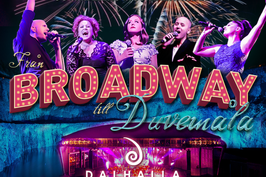Från Broadway till Dalhalla!